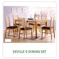 SEVILLE 9 DINING SET